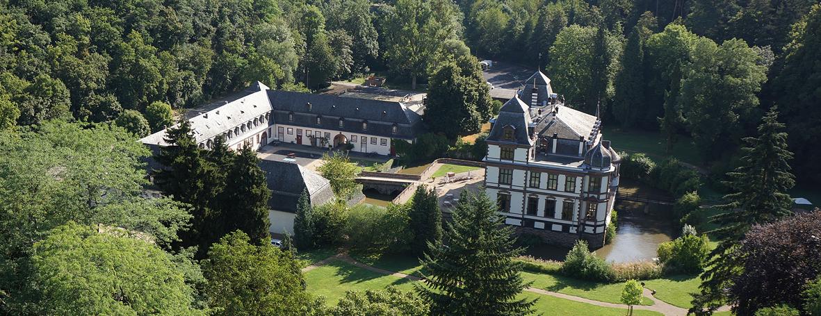 Schloss Ahrenthal Luftbild
